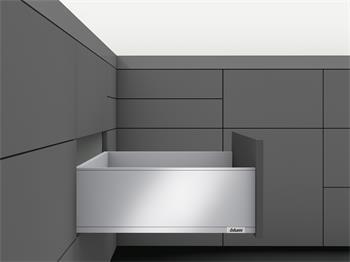 Blum Legrabox Tip-On + Blumotion sada PURE 500mm výška C černá 70kg