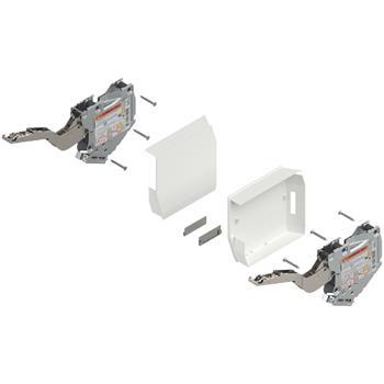 Blum 20K2E00T Aventos HK-S silný TIP-ON včetně krytek bílých bez čelního kování (sada)