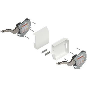 Blum 20K2B00T Aventos HK-S slabý TIP-ON včetně krytek bílých bez čelního kování (sada)