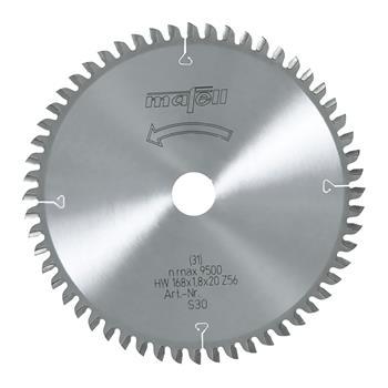 Mafell Pilový kotouč-HM, 168 x 1,2/1,8 x 20 mm, Z 56, WZ (092482)