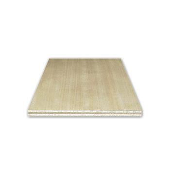 PŘEKLIŽKA panel 1250x2500mm, jednostranná, 9mm, Meranti