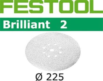 Festool STF D225/8 P40 BRILLIANT 2/25 Brusné kotouče (495927)