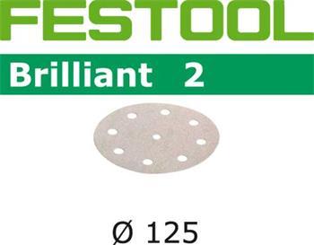Festool STF D125/8 P120 BRILLIANT 2/10 Brusné kotouče (495992)