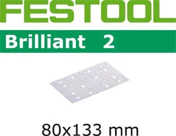 Festool STF 80x133 P60 BRILLIANT 2/10 Brusný papír (496008)