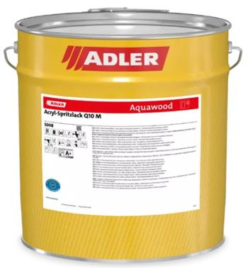 ADLER Acryl-Spritzlack Q10 M RAL9010 5 kg