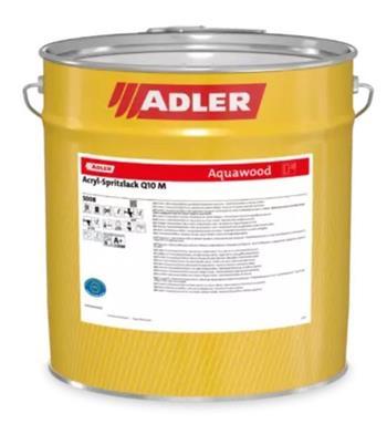 ADLER Acryl-Spritzlack Q10 W10 M bílá (Weiß, tönbar) 5 kg
