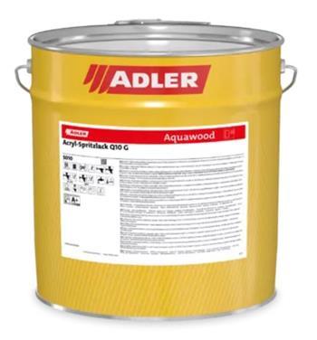 ADLER Acryl-Spritzlack Q10 W10 G bílá (Weiß, tönbar) 10 kg