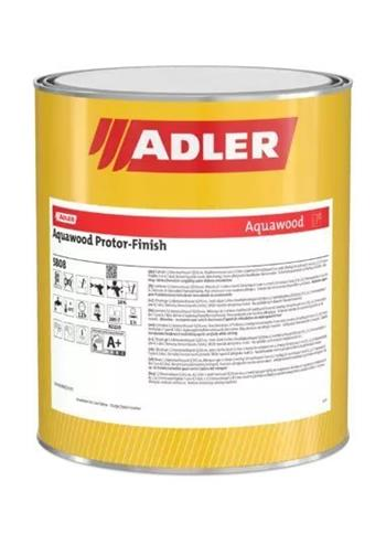 ADLER Aquawood Protor-Finish Pearl RAL9006 (tönbar) 8 kg