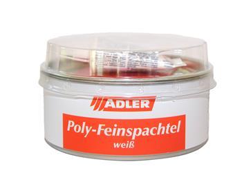 ADLER Poly-Feinspachtel bílá (Weiß) 1 kg