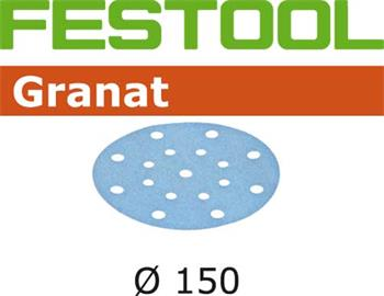 Festool STF D150/16 P80 GRANAT/50 Brusné kotouče (496977)