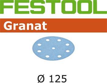 Festool STF D125/8 P400 GRANAT/100 Brusné kotouče (497177)