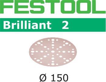 Festool STF D150/48 P400 BRILLIANT 2/100 Brusné kotouče (575153)