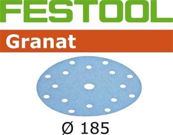 Festool STF D185/16 P180 GRANAT/100 Brusné kotouče (497188)