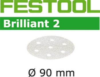 Festool STF D90/6 P400 BRILLIANT 2/100 Brusné kotouče (497389)