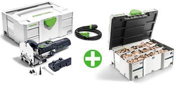 Festool DF 500 Q-Plus + sada bukových kolíků DS 4/5/6/8/10 1060x BU