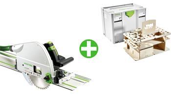 Festool TS 75 EBQ-Plus-FS + SYS-HWZ SYSTAINER T-LOC