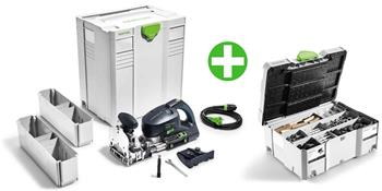 Festool DF 700 EQ-Plus + Sortiment spojovacích prvků DOMINO SV-SYS D14