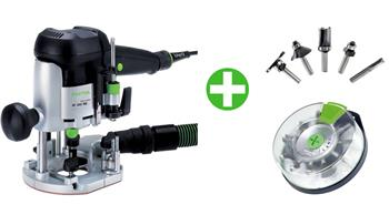 Festool OF 1010 EBQ-Plus + Box-OF HW 10xS8 Mix