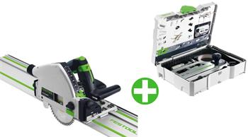 Festool TS 55 REBQ-Plus-FS + Sada příslušenství FS-SYS/2