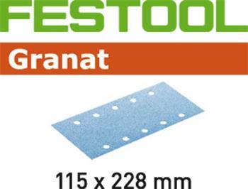 Festool STF 115X228 P80 GRANAT/50 Brusný papír (498946)