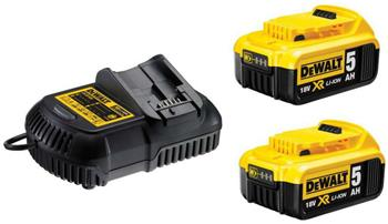 DeWALT DCB115P2 sada nabíječky a baterií 18V
