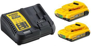 DeWALT DCB115D2 sada nabíječky a baterií 18V