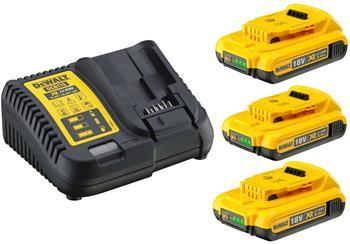DeWALT DCB115D3 sada nabíječky a baterií 18V