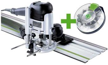 Festool OF 1010 EBQ-Set + Box-OF-S 8/10x HW Horní frézka (574384)