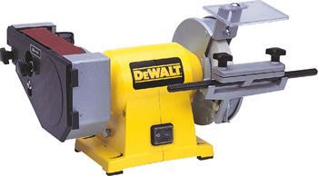 DeWALT DW753 pásová a kotoučová bruska
