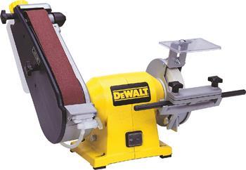DeWALT DW755 pásová a kotoučová bruska pro mokré broušení