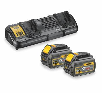 DeWALT DCB132T2 sada dvojité nabíječky a baterií