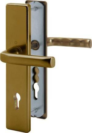 HOPPE LONDON kl-kl F4 bronz 90/8mm 37-42mm vchodová 113/2221/2210