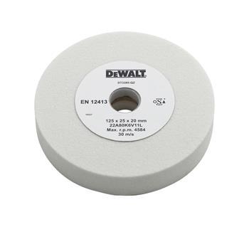 DeWALT DT3385 Brusný kotouč z oxidu hlinitého, zrnitost 80, 125 x 25 x 20 mm