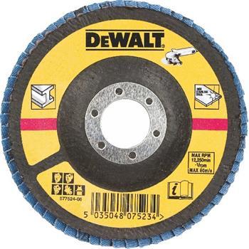 DeWALT DT3266 Brusný lamelový kotouč vypouklý šikmý 60 G na kov, 125 mm