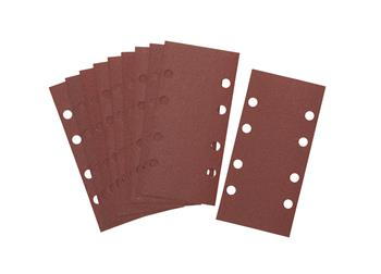 DeWALT DT8621 Brusný papír na suchý zip P80, 230 x 93 mm, 10 ks