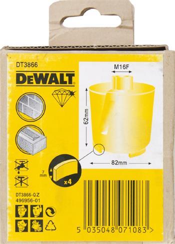 DeWALT DT3866 korunkový vrták 82 x 62 mm