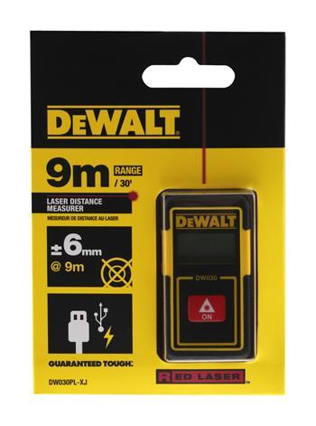 DeWALT DW030PL kapesní laserový dálkoměr 9 m