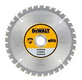 DeWALT DT1910 kotouč pro aku kotoučové pily na řezání hliníku, 140 x 20 mm, 30 zubů