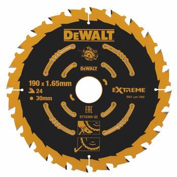 DeWALT DT10304 pilový kotouč EXTREME pro kotoučové pily, 190 x 30 mm, 24 zubů