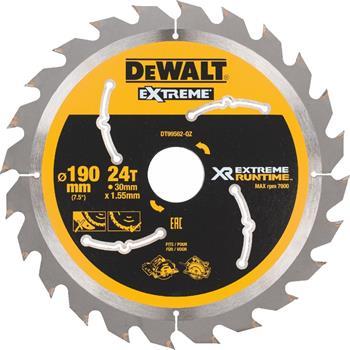 DeWALT DT99562 pilový kotouč XR FLEXVOLT pro ruční kotoučové aku pily, 190 x 30 mm, 24 zubů