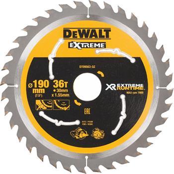 DeWALT DT99563 pilový kotouč XR FLEXVOLT pro ruční kotoučové aku pily, 190 x 30 mm, 36 zubů