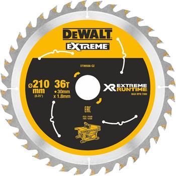 DeWALT DT99566 pilový kotouč XR FLEXVOLT pro stolní aku pily, 210 x 30 mm, 36 zubů