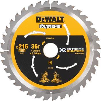 DeWALT DT99569 pilový kotouč XR FLEXVOLT pro pokosové aku pily, 216 x 30 mm, 36 zubů
