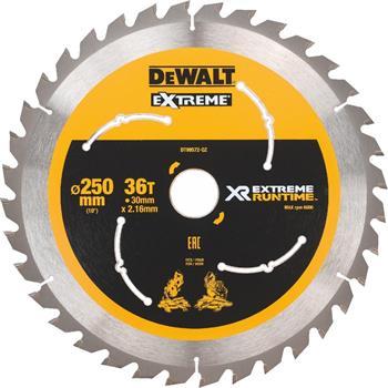 DeWALT DT99572 pilový kotouč XR FLEXVOLT pro aku pily, 250 x 30 mm, 36 zubů