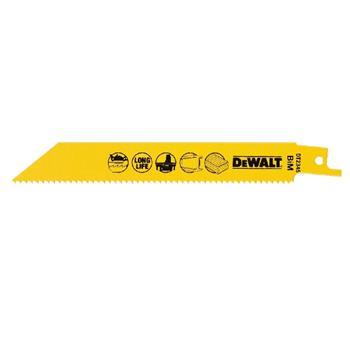 DeWALT DT2345 pilové plátky bimetalové pro AKU nářadí na dřevo, hliník, laminát, 152 mm