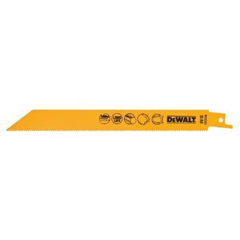 DeWALT DT2353 pilové plátky bimetalové na kov do 3-8 mm, 203 mm