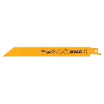 DeWALT DT2354 pilové plátky bimetalové na kov do 3 mm, 203 mm