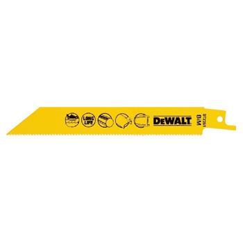 DeWALT DT2361 pilové plátky bimetalové na kov do 3-8 mm, 152 mm