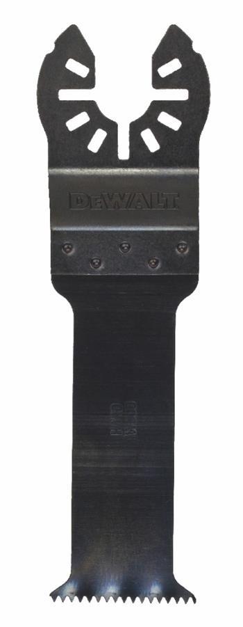 DeWALT DT20703 Pilový list pro oscilační multibrusky, na tvrdé dřevo, 67 x 30 mm