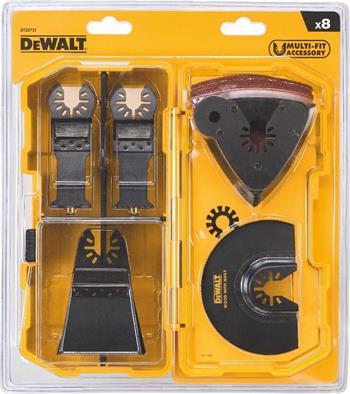 DeWALT DT20731 Sada příslušenství pro oscilační nářadí, 8 ks